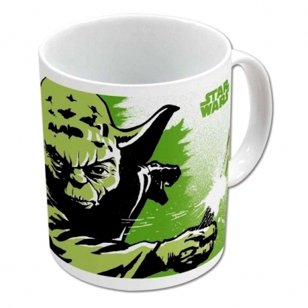 Kubek 325ml Star Wars - Yoda Master